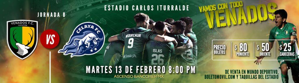 Venados vs Celaya en Vivo Online Ascenso MX 2018