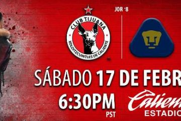 Xolos vs Pumas en Vivo Liga MX 2018