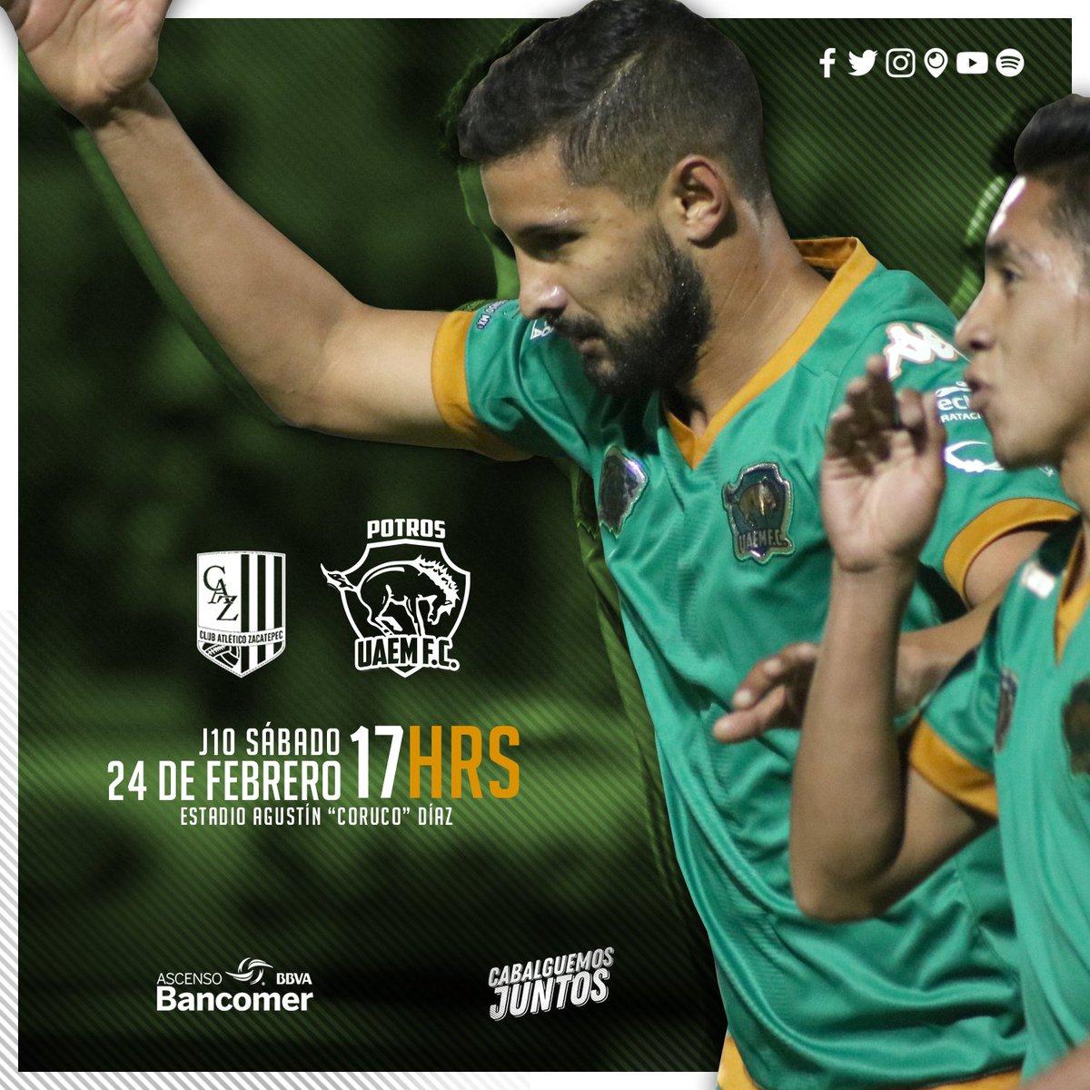 Zacatepec vs Potros UAEM en Vivo Ascenso MX 2018