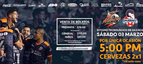 Alebrijes vs Cimarrones en Vivo Ascenso MX 2018