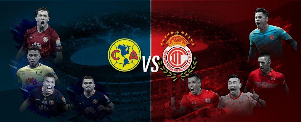 América vs Toluca en Vivo Liga MX 2018