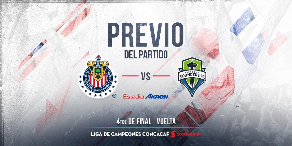 Chivas vs Seattle Sounders en Vivo previo Lobos BUAP Guadalajara