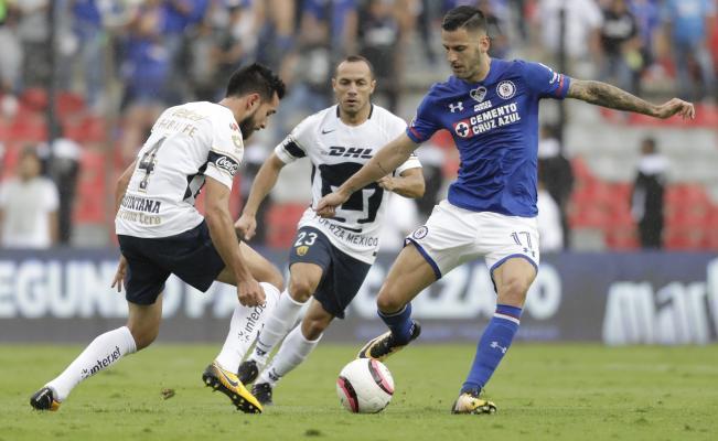 Cruz Azul vs Pumas en Vivo Liga MX 2018