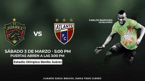 Juárez vs Atlante en Vivo Ascenso MX 2018