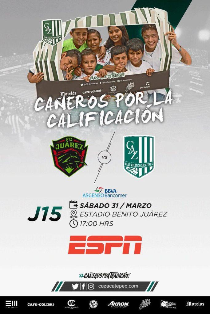 Juarez vs Zacatepec en Vivo Ascenso MX 2018