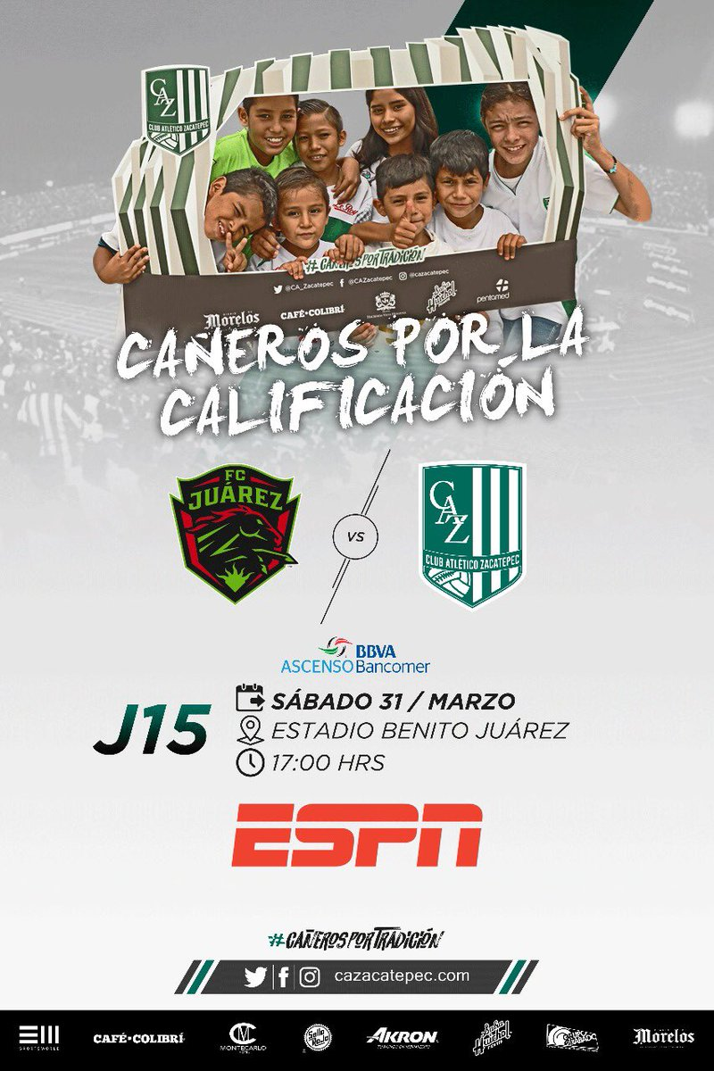 Juarez vs Zacatepec en Vivo Ascenso MX 2018