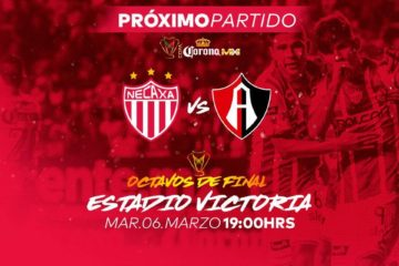 Necaxa vs Atlas en Vivo Copa MX 2018