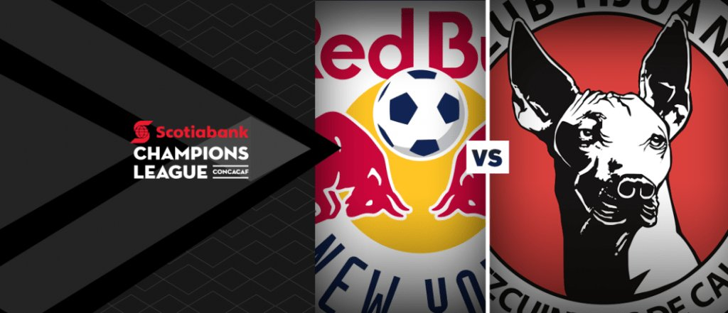 New York Red Bulls vs Tijuana en Vivo CONCACAF Liga de Campeones 2018