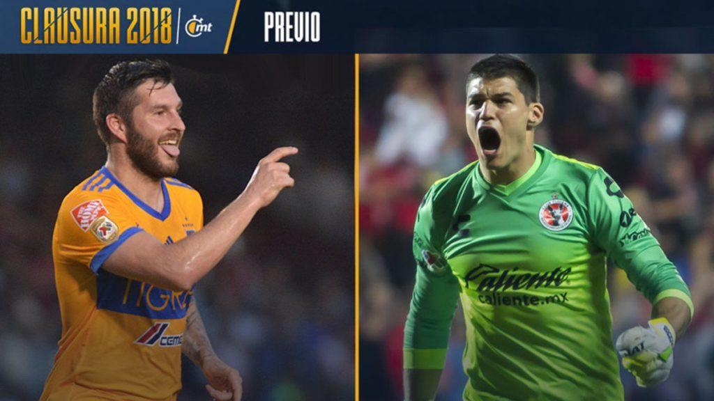Tigres vs Tijuana en Vivo Liga MX 2018