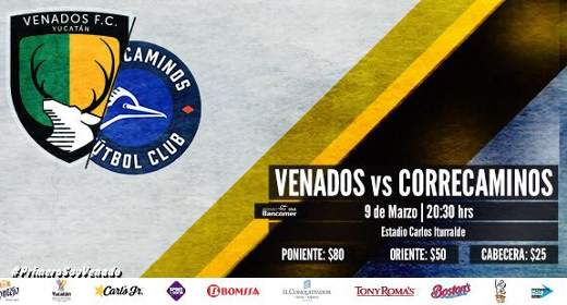 Venados vs Correcaminos en Vivo Ascenso MX 2018