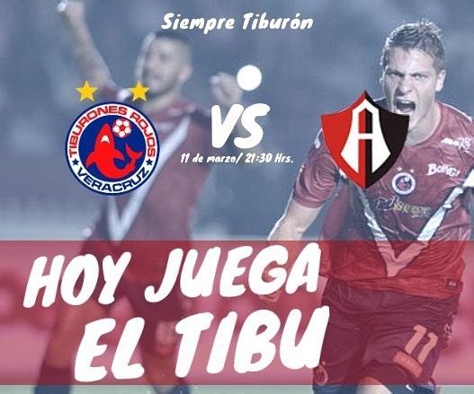 Veracruz vs Atlas en Vivo Liga MX 2018