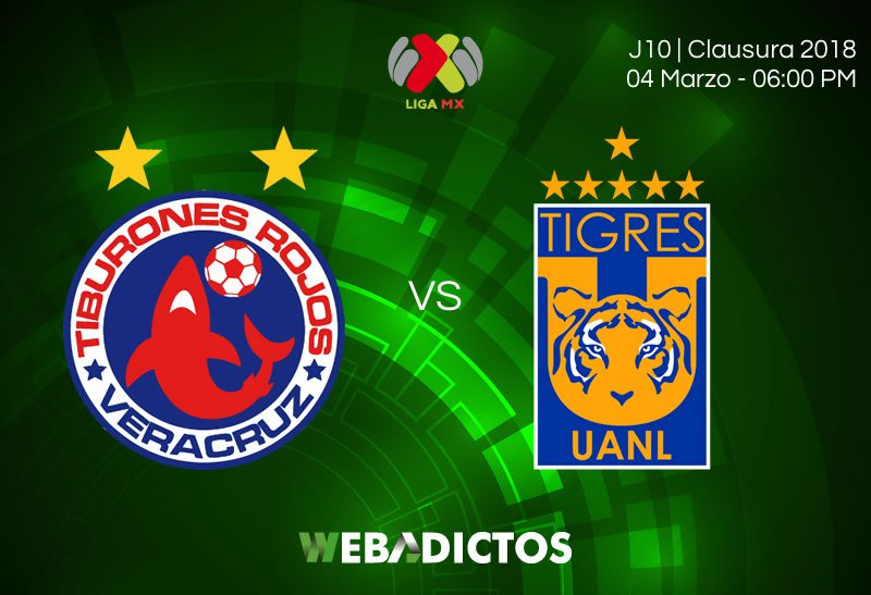 Veracruz vs Tigres en Vivo Ascenso MX 2018
