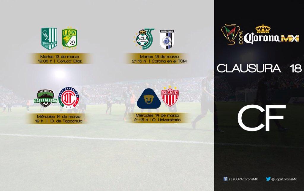 Zacatepec vs León en Vivo Copa MX 2018
