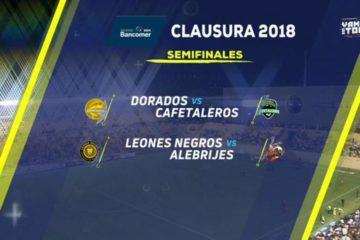 Alebrijes vs Leones Negros en Vivo Semifinal de ida Ascenso MX 2018