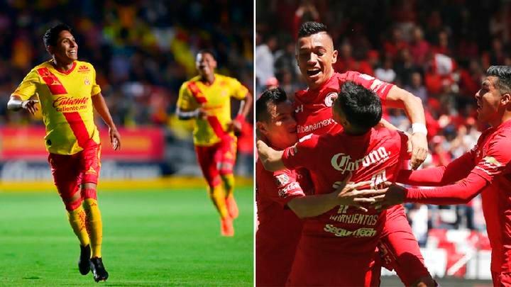 Azteca deportes Morelia vs Toluca en Vivo Liga MX 2018