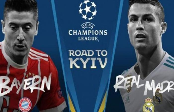 Bayern Múnich vs Real Madrid en Vivo Champions League 2018