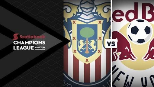 Chivas vs New York Red Bulls en Vivo Semifinal CONCACAF Liga de Campeones 2018