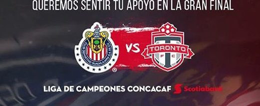 Chivas vs Toronto en Vivo por Internet CONCACAF Liga de Campeones 2018