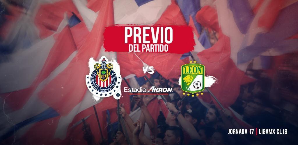 en que canal juega Chivas vs León en Vivo Liga MX 2018