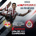 en que canal juega New York Red Bulls vs Chivas en Vivo CONCACAF Liga de Campeones 2018