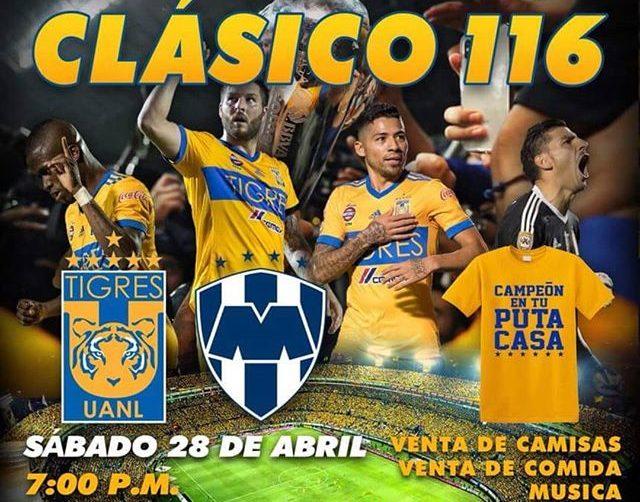 en que canal juega Tigres vs Rayados en Vivo Liga MX 2018