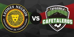final en vivo Leones Negros vs Cafetaleros Ascenso MX 2018