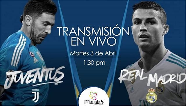 Juventus vs Real Madrid en vivo Champions League 2018