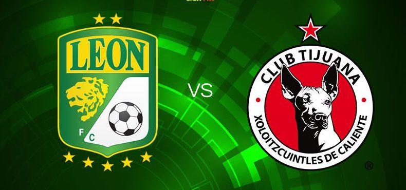 León vs Xolos en Vivo Online Liga MX 2018