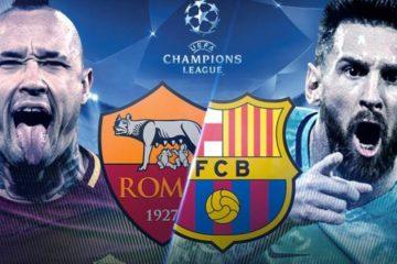partido de vuelta Roma vs Barcelona en Vivo Champions League 2018