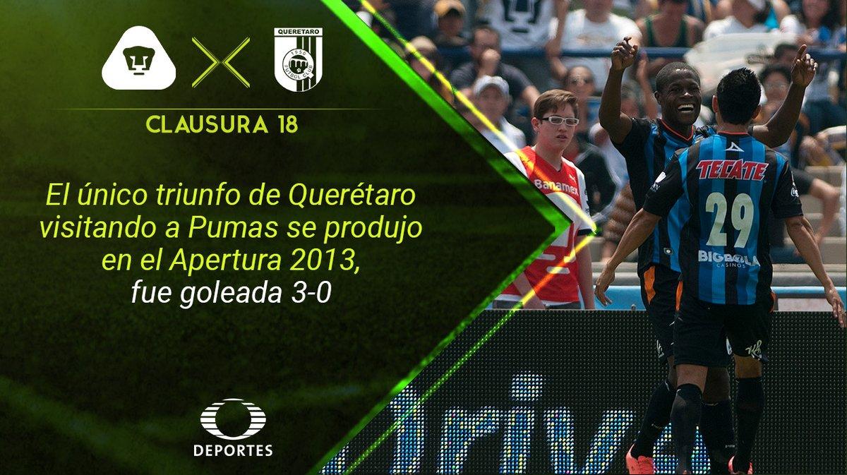 Vídeo resumen Pumas vs Querétaro en Vivo Liga MX 2018