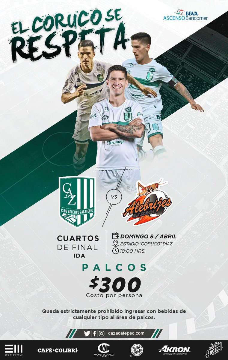 Zacatepec vs Alebrijes en Vivo Online Ascenso MX 2018