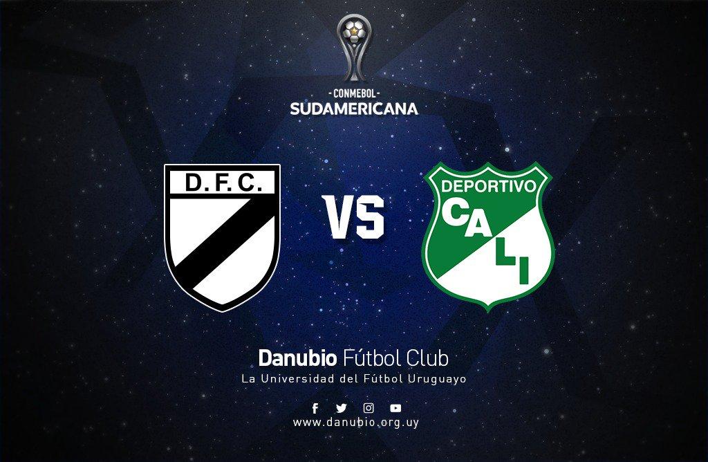 En que canal juega Danubio vs Deportivo Cali en Vivo Copa Sudamericana 2018