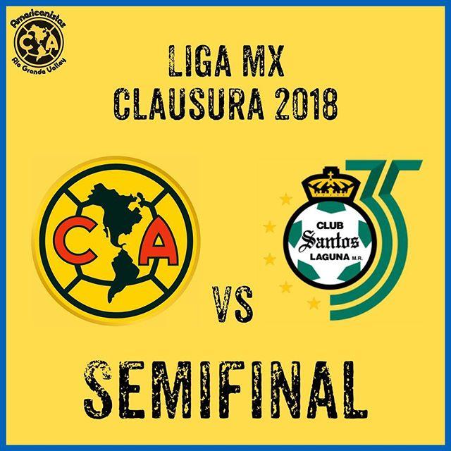 En que canal juega Santos vs América en Vivo Liga MX 2018