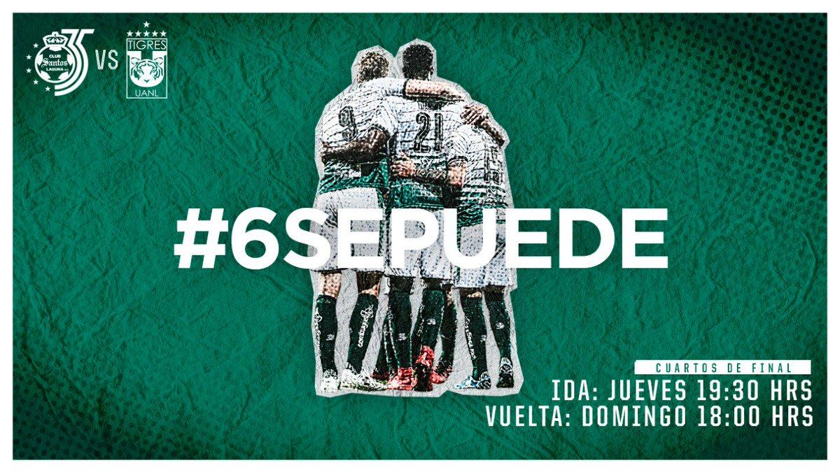En que canal juega Santos vs Tigres en Vivo partido de vuelta Liga MX 2018