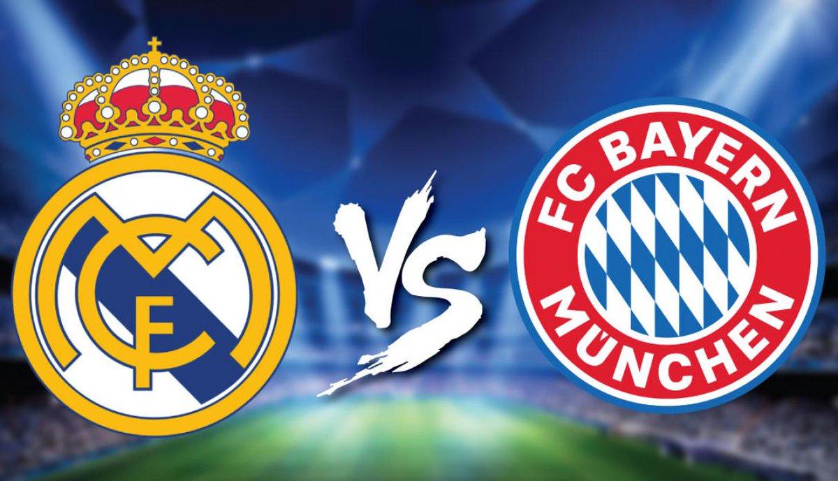 En que canal juega Real Madrid vs Bayern en Vivo Semifinal vuelta Champions League 2018