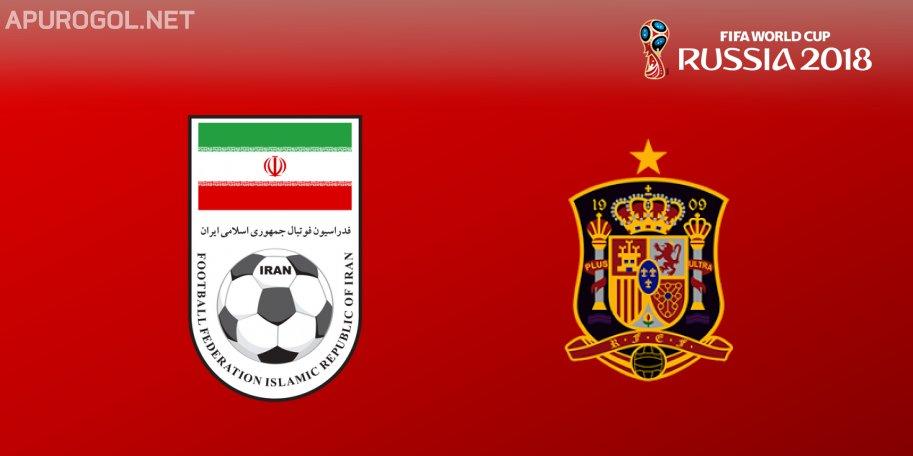 En el mundial Irán vs España en Vivo Rusia 2018 2018
