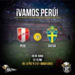 En que canal juega Suecia vs Perú en Vivo Amistoso 2018