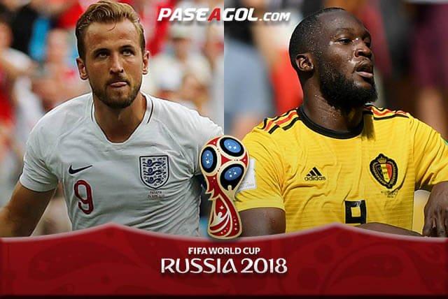 En vivo por Azteca 7 Inglaterra vs Bélgica por Internet Rusia 2018