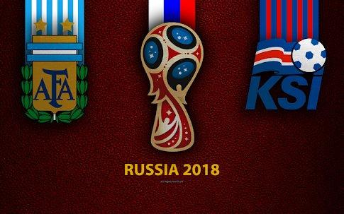 Partido Argentina vs Islandia en Vivo en el mundial Rusia 2018 2018