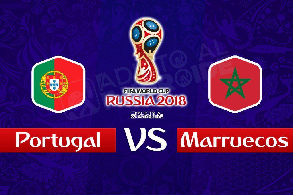 Partido del mundial Portugal vs Marruecos en Vivo Rusia 2018 2018