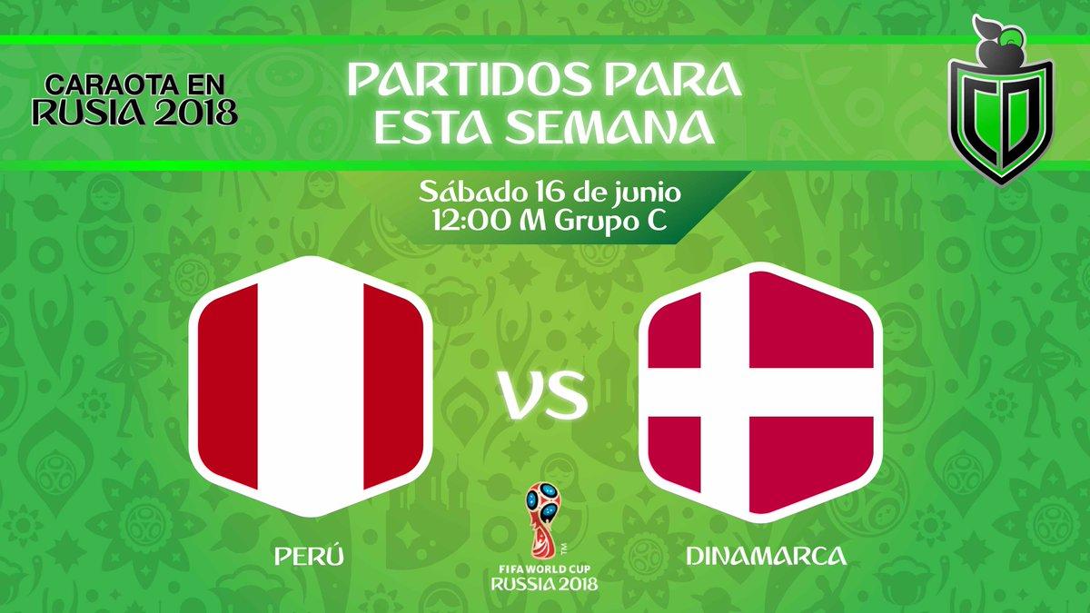 Partido en vivo Perú vs Dinamarca por internet Rusia 2018 2018