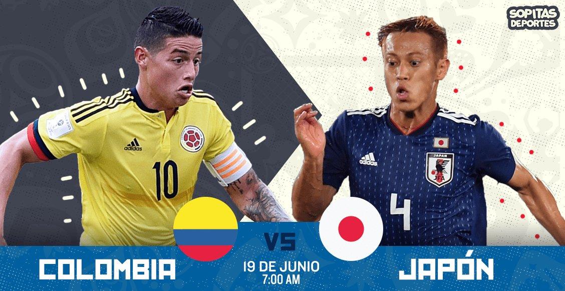Partido por RCN en Vivo Colombia vs Japón Online Rusia 2018 2018