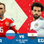 Partido Rusia vs Egipto en Vivo Online Rusia 2018 2018