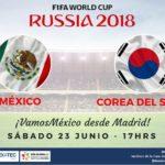Por TDN México vs Corea en Vivo en el Mundial Rusia 2018