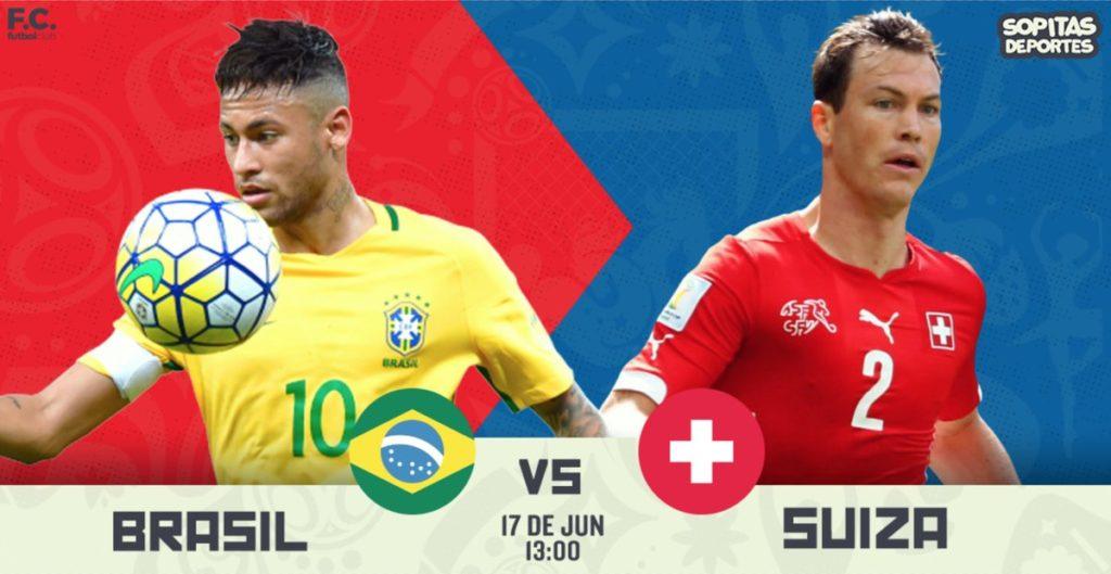 SKY en vivo Brasil vs Suiza en el Mundial Rusia 2018 2018