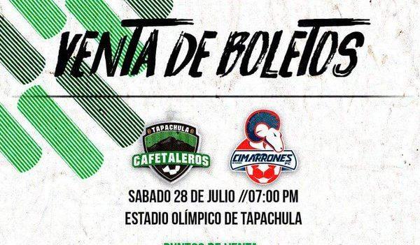Cafetaleros vs Cimarrones en Vivo por Internet Ascenso MX 2018