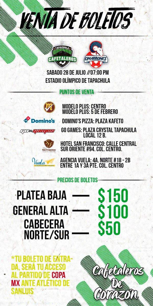 Cafetaleros vs Cimarrones en Vivo por Internet previo Cimarrones de Sonora Atlante