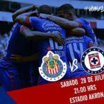 Chivas vs Cruz Azul en Vivo por Internet Liga MX 2018