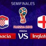 El partido por Azteca 7 Croacia vs Inglaterra en Vivo Rusia 2018