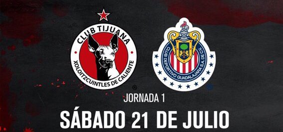 En vivo por Fox Sports el partido Xolos vs Chivas Liga MX 2018